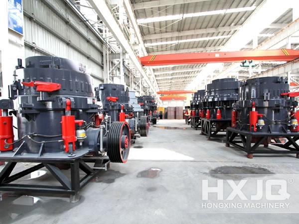 Cone marble crusher