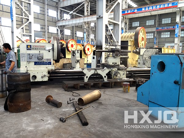 production factory of Hongxing Machinery