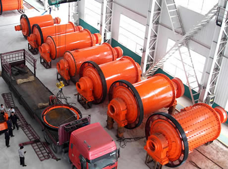 ball mill in factory