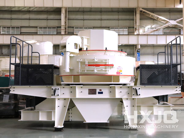 Sand Making Machine in Factory