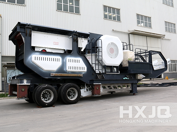 Mobile Crusher in Factory