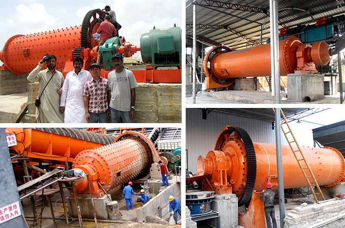 Ball Mill at Sites